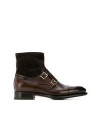 Santoni Monk Ankle Boots