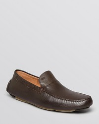 0a62e89b140 ... Hugo Boss Boss Drinno Pebble Grain Leather Driving Loafers