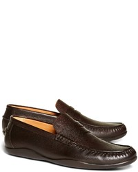 Brooks Brothers Harrys Of London Scotch Grain Basel Leather Loafers