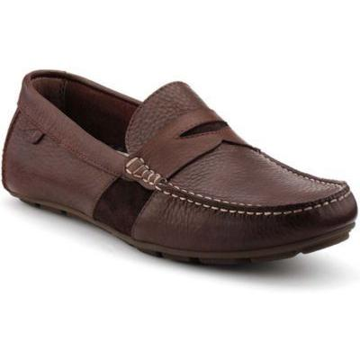 6d3bf7142e0 Sperry Topsider Shoes Wave Driver Penny Loafer Dark Brown Leather ...