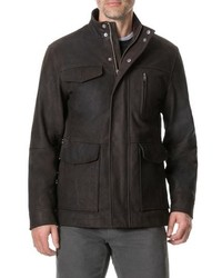 Rodd & Gunn Fairholme Leather Jacket