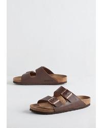 Birkenstock Usa Lp Strappy Camper Sandal In Brown