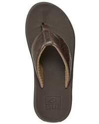 Reef Phantom Leather Thong Sandals
