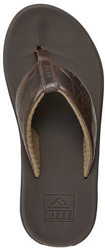 8eb7b3a9f7fe ... Brown Leather Flip Flops Reef Phantom Leather Thong Sandals