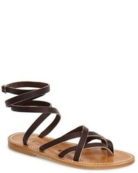Kjacques st tropez zenobie ankle wrap sandal medium 351948