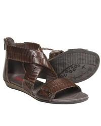 PIKOLINOS Alcudia Gladiator Sandals Dark Brown