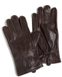 Ben Sherman Plectrum Leather Gloves