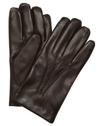 All Gloves Brown Leather Nappa Gloves