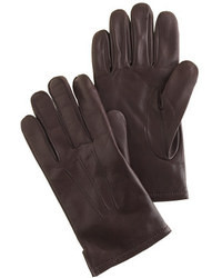 J.Crew Cashmere Lined Leather Smartphone Gloves