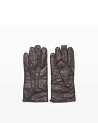 Club Monaco Washed Leather Glove