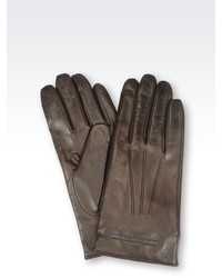 Emporio Armani Napa Leather Glove