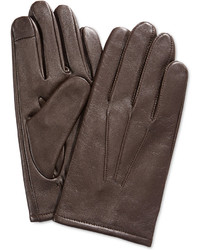 Club Room Gloves Leather Touchscreen
