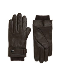BOSS Hakani Leather Gloves