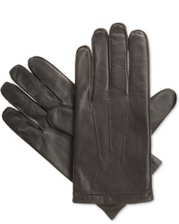 Isotoner Signature Thermaflextm Smartouch Smooth Leather Glove With Center Palm Vent