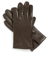 John w nordstrom leather tech gloves medium 370342