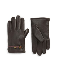 Polo Ralph Lauren Lined Leather Gloves