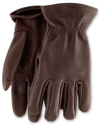 Red wing buckskin leather gloves medium 370346