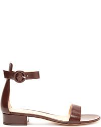 Portofino leather block heel sandals medium 4421377