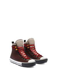 Converse Chuck Taylor High Top Waterproof Leather Sneaker