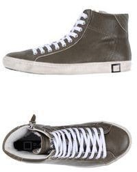 High top sneakers medium 30052