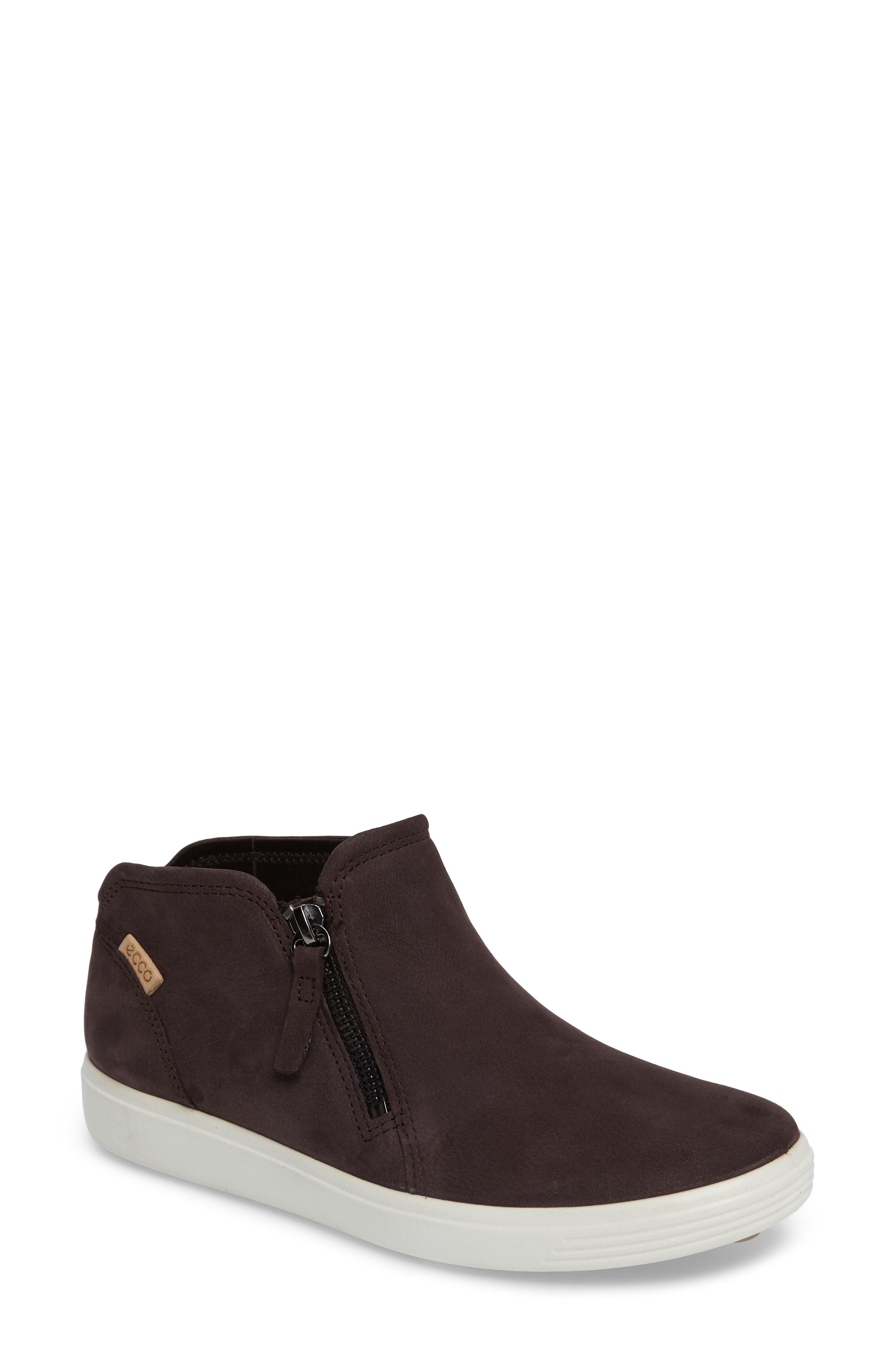 56a3f4b71 Ecco Soft 7 Mid Top Sneaker, $169   Nordstrom   Lookastic.com
