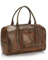 Hugo Boss Weekender Leather Travel Bag