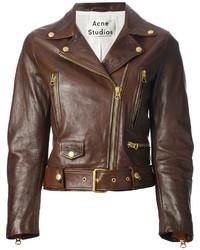 Acne Studios Mock Vintage Biker Jacket
