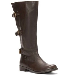 2 Lips Too Jimmy Wide Calf Knee High Riding Boots