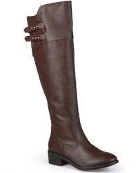 Journee Collection Chloe Knee High Riding Boots