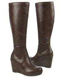 dr scholl s bellamy wide calf wedge boot where to buy