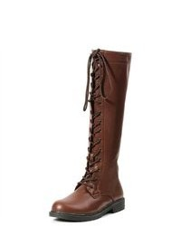 Ellie Shoes Knee High Lace Up Adult Boots