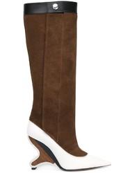 Marni Sculpted Heel Knee High Boots