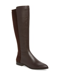 8c21ad9b0b0 Women s Dark Brown Leather Knee High Boots by Nine West