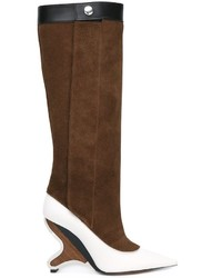 Sculpted heel knee high boots medium 922870