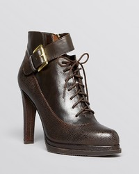 French Connection Lace Up Platform Booties Sasha High Heel