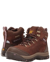 Caterpillar Ally 6 Waterproof Composite Toe Work Lace Up Boots