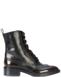 Sartore Lace Up Brogue Boots