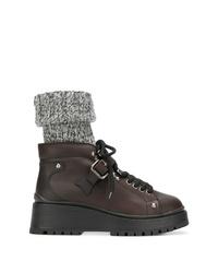 Miu Miu Sock Lined Ankle Boots