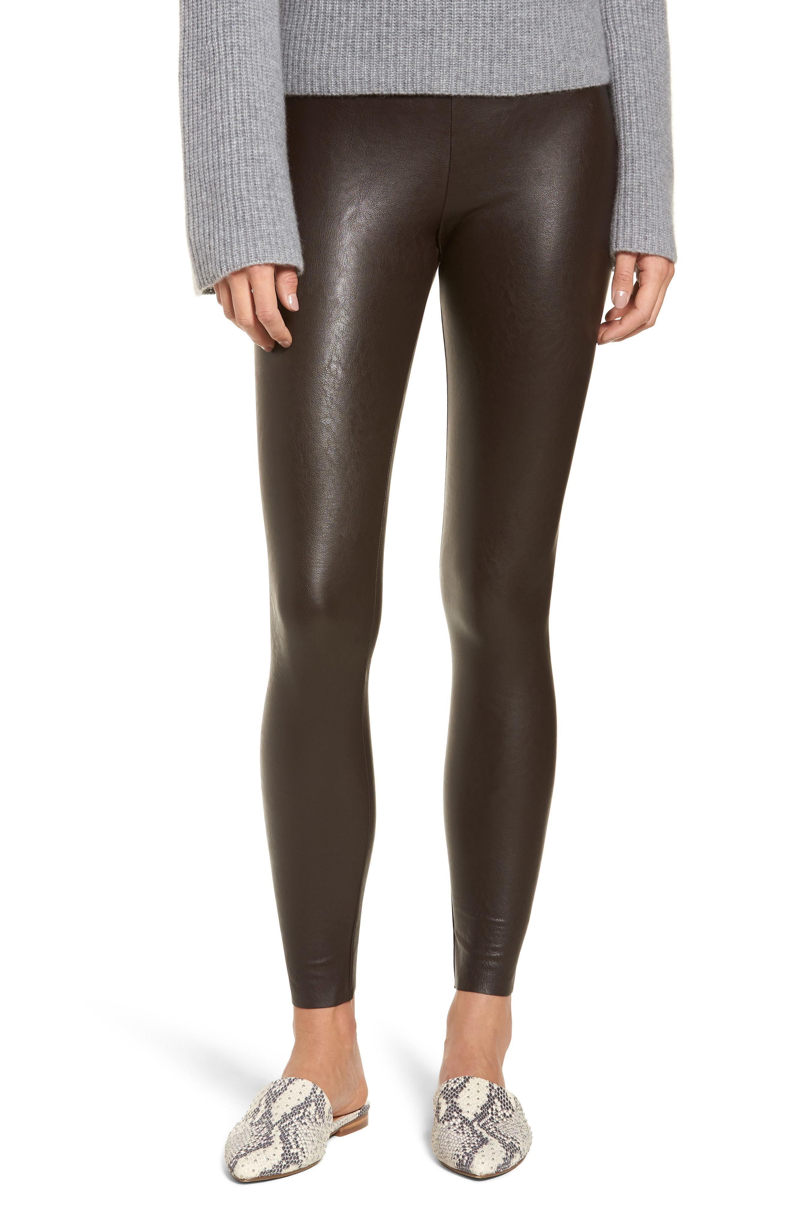 9bfe380b4bfaf Commando Perfect Control Faux Leather Leggings, $98 | Nordstrom ...