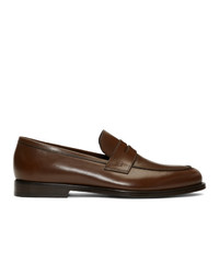 Paul Smith Brown Wolf Loafers