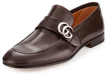1ce3affaece ... Gucci Donnie Leather Loafer Wgg ...