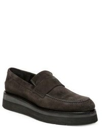 Vince Dorsey Leather Platform Loafers