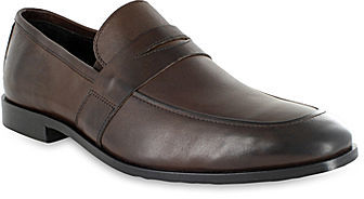 cccb64715021 ... Shoes › Loafers › jcpenney › Florsheim › Dark Brown Leather Loafers  Florsheim Jet Leather Penny Loafers ...