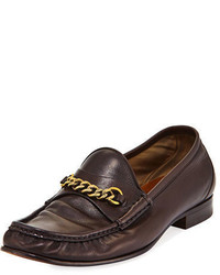 69867b4865f Tom Ford Burnished Leather Tasselled Loafers Out of stock · Tom Ford Leather  York Chain Loafer