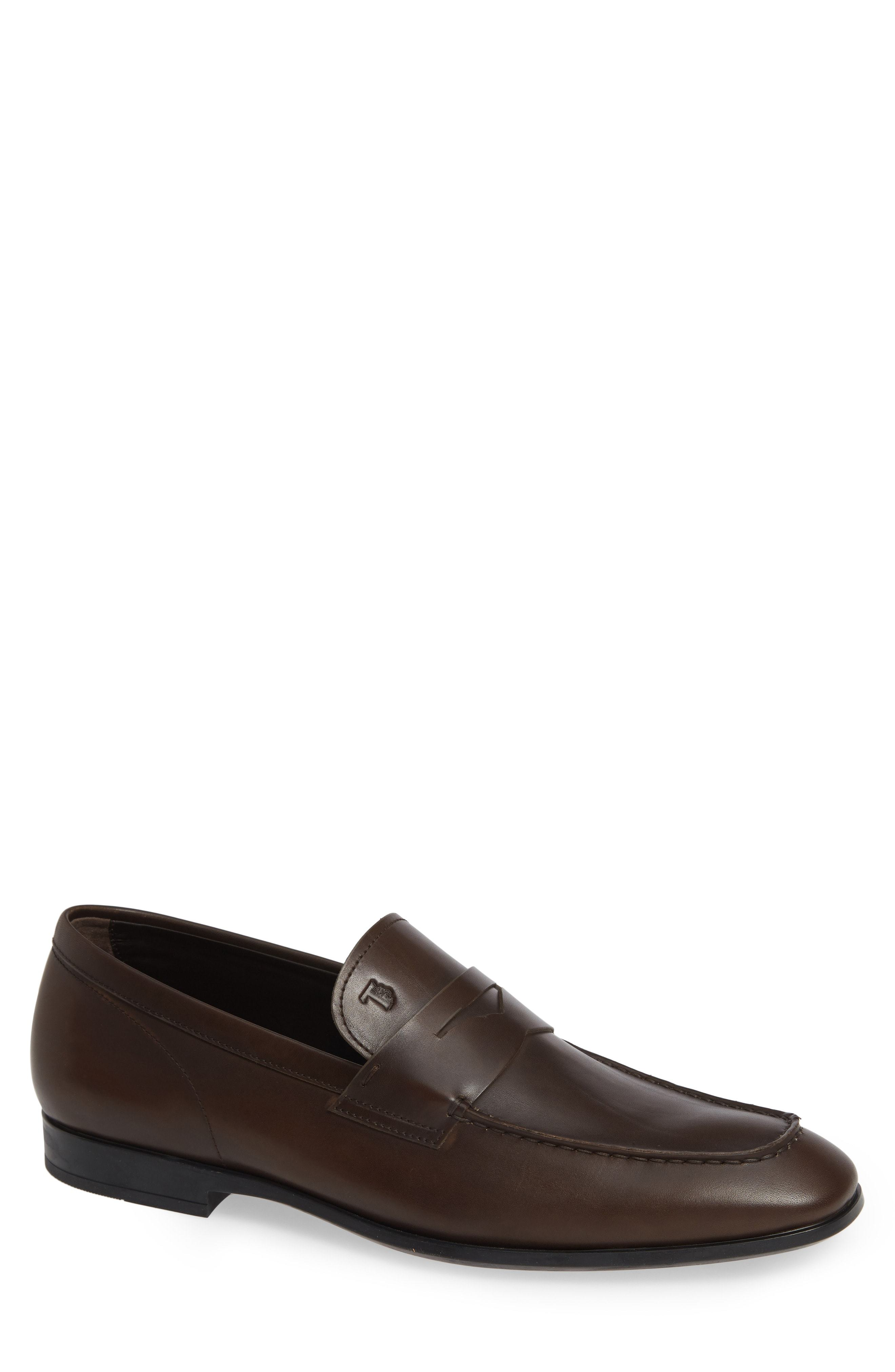 Tod's Mocassino Suede Penny Loafer