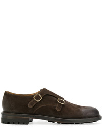 Doucal's Monk Strap Loafers