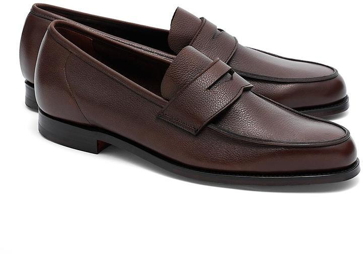 f568faa3d6f ... Brooks Brothers Peal Co Lightweight Penny Loafers ...