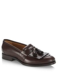 Gucci Queercore Tassel Leather Loafers