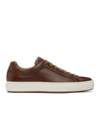 BOSS Brown Mirage Tennis Sneakers