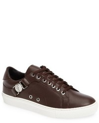 Versace Collection Low Top Side Bit Sneaker